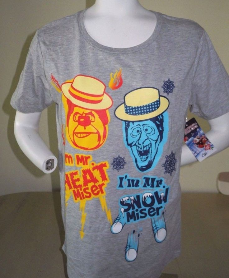 THE YEAR WITHOUT SANTA CLAUS I'M MR HEAT MISER I'M MR SNOW MISER TEE 2XL NEW !  #BIOWORLD #GRAPHICTEE