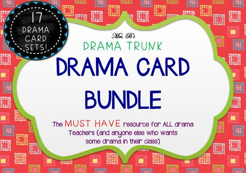 Drama Cards CLASSIC BUNDLE (17 sets of Drama Cards)
