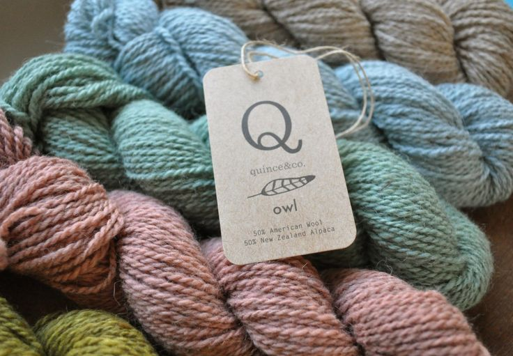 56 best Quince & Co images on Pinterest Knitting, Knitting patterns and...