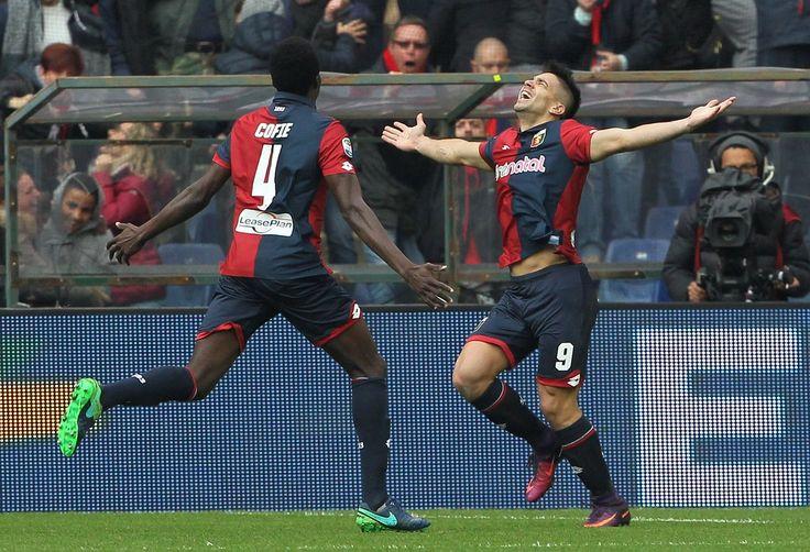 #Genoa Giovanni #Simeone punisce Madama con una doppietta #AvantiGenoa #9ine