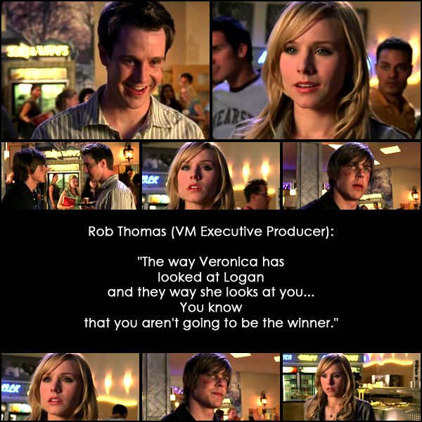 10 Reasons Why I Ship Veronica Mars and Logan Echolls: #10. Because they are forever.