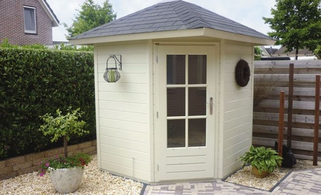 Don't just settle for a normal, square shed! Add some culture and flavour with a pentagon, hexagon, or other sided shed. The angles can make it look like a gazebo, or other structure that can go great with your yard.