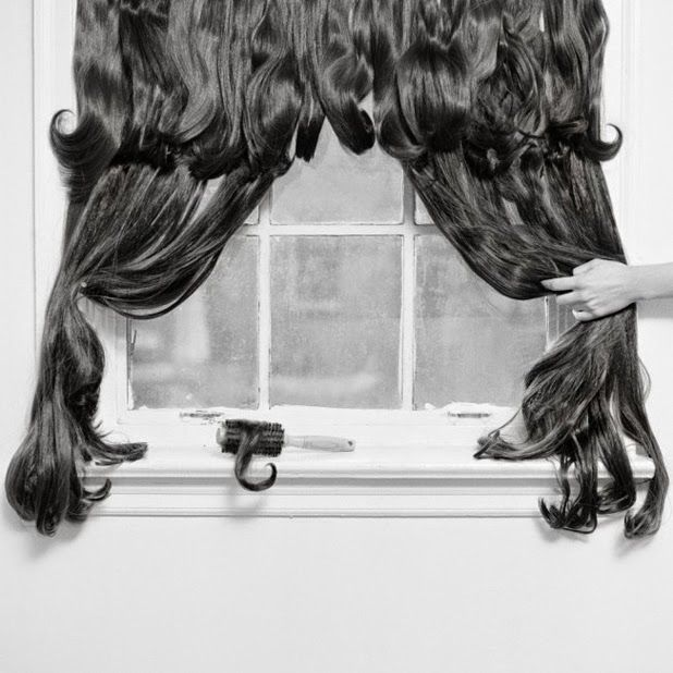 """Hair Pieces"" series by Rebecca Drolens"