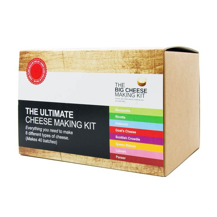 The Big Cheese Making Kit - The Ultimate Cheese Making Kit | Buy Online | Sous Chef UK