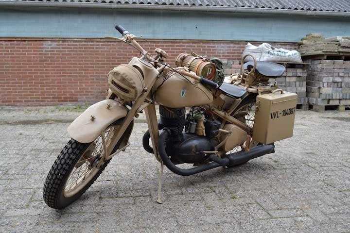 DKW NZ-350 Wehrmacht