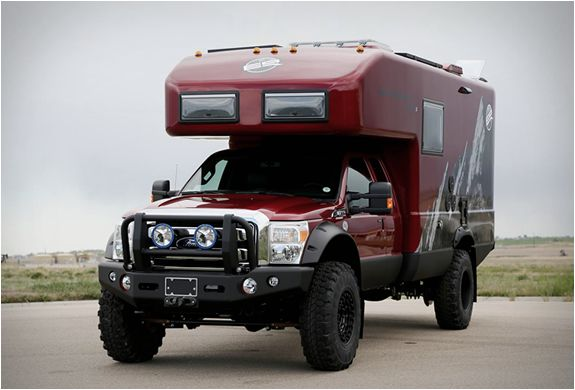 Earthroamer are global leaders in Xpedition Vehicles, their spectacular XV-LT model line is currently the best-selling Xpedition Vehicle model in the world, and we can see why, they are in a class of their own. The company take a Ford F550 diesel and
