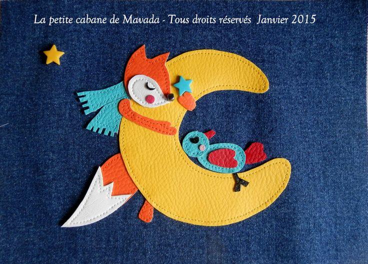 Appliqué avec dessin personnel Mavada