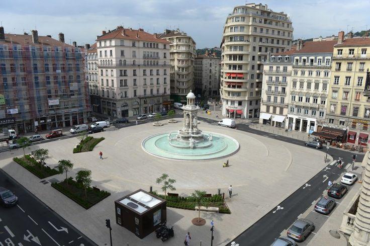 Réaménagement des Jacobins, Lyon