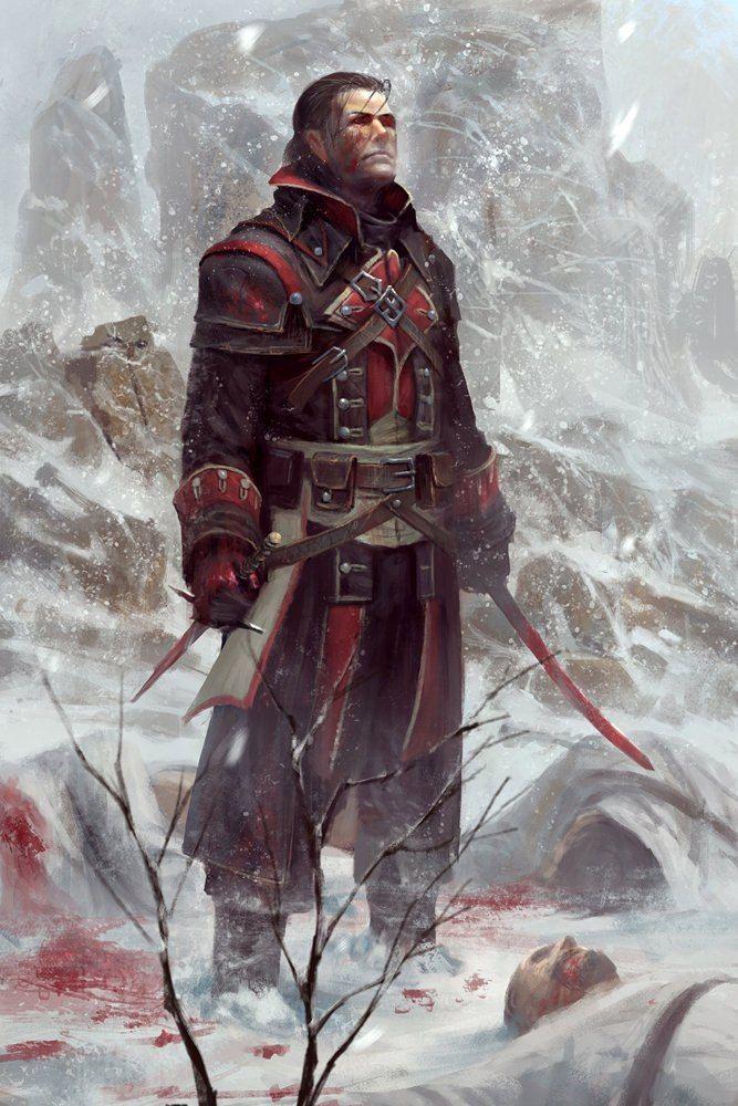 Shay Patrick Cormac assassin's creed Rogue