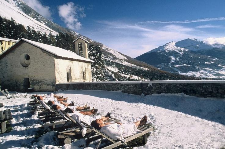solarium at Bagni Vecchi