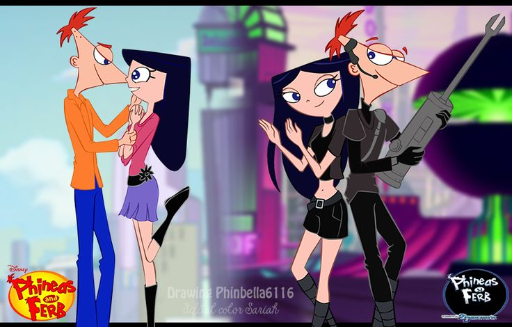 Phineas and fran hentai