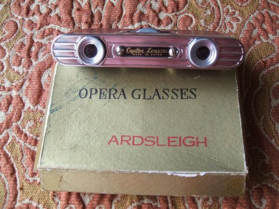 Vintage Opera Glasses Circa 1950's Made In Japan by TheHilltopShop, $12.00