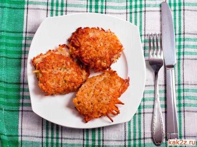 Постные морковные котлеты - Кулинарные рецепты