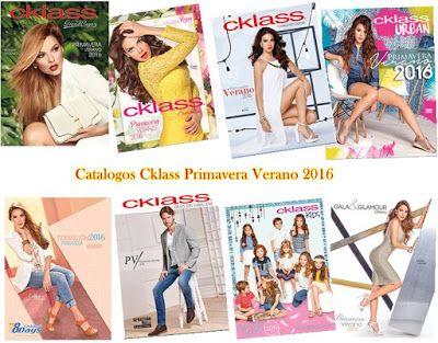 Catálogos Cklass 2016, Primavera Verano. Las colecciones traen nuevos modelos de ropa, así como zapatos. Catalogos de Mexico y USA