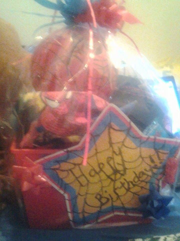 75 best easter gift baskets images on pinterest easter gift marvel spider man gift basket by giftbasketsbymel on etsy negle Choice Image