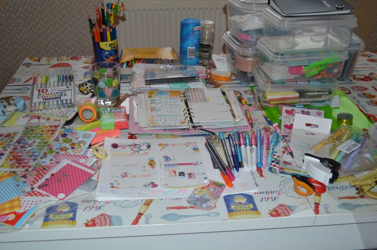 Week 2 filofax planning table 2016