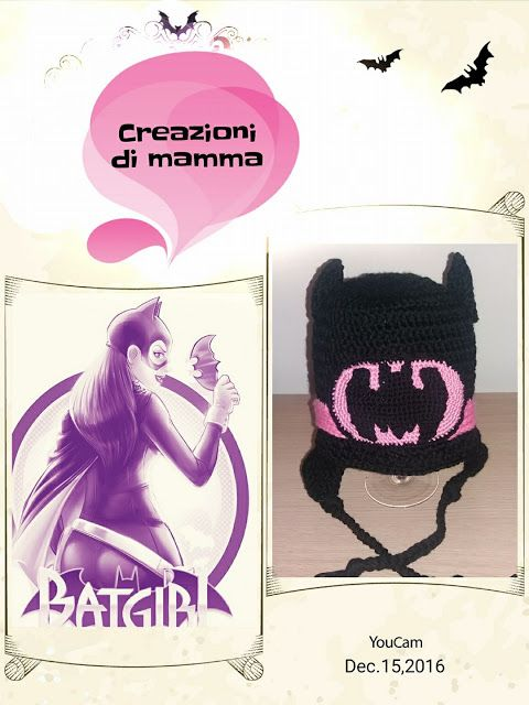 Creazioni di mamma: Bat-girl per Alice