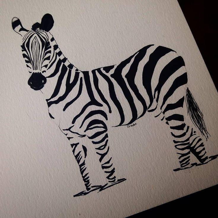 Best 25+ Zebra drawing ideas on Pinterest | Zebra painting ...