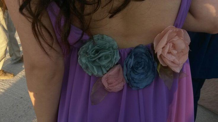 Βeatiful handmade flowers ....by me