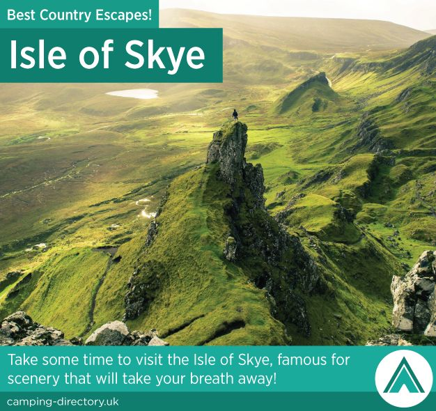 Isle of Skye, Scotland. Country Escape. Take some time to visit the Isle of Skye, famous for scenery that will that your breath away.