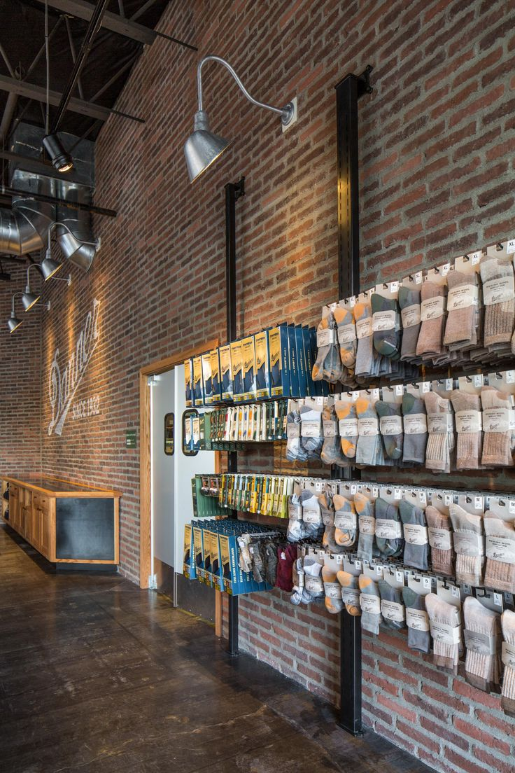 Sock Display Wall in Danner Commericial Tenant Improvement