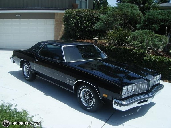 1977 Olds Cutlass, 350 4bbl Rocket V8/350 TurboHydro auto