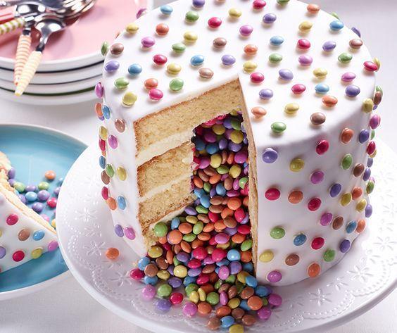 Ein Pinata-Kuchen ist perfekt für Partys und sie sind so einfach zuzubereiten, wenn Sie wissen …