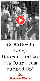 An easy to use list (with song links) of Rock, Country, Rap, Top 40 and Christian warm-up music and walk-up songs for baseball and softball.