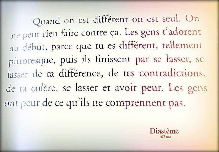 """Diastème """"107 ans"""""""