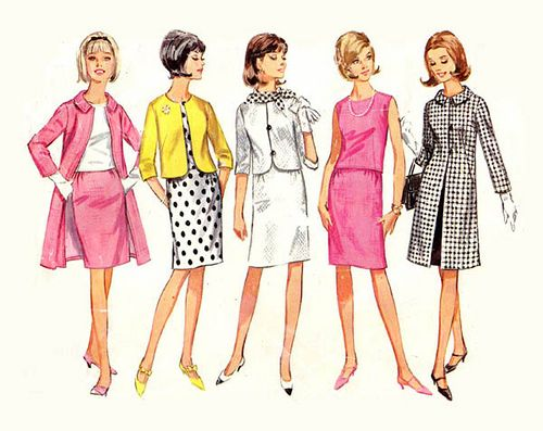 Vintage Fashion 1960 Vintage Sewing Pattern Of The Day Vintage 1960s Jackie O Suit