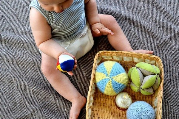 Found on Hellobee.com! Otis looking at juggling ball