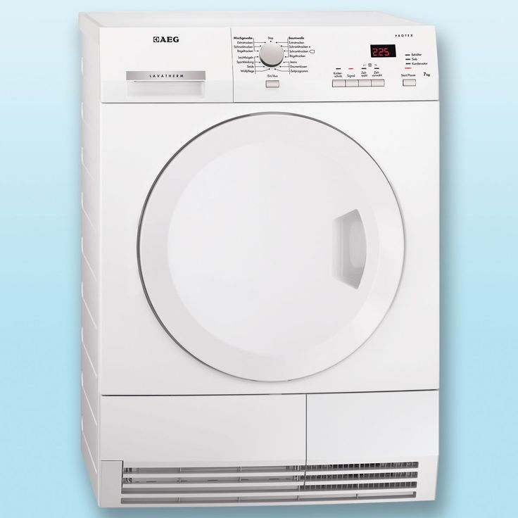Would you like your laundry to be extra dry and fluffy? Get this dryer by high-quality brand AEG with 57% discount!