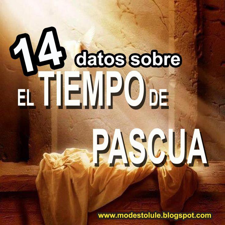 Modesto Lule Zavala MSP: 14 datos sobre el tiempo de la pascua cristiana