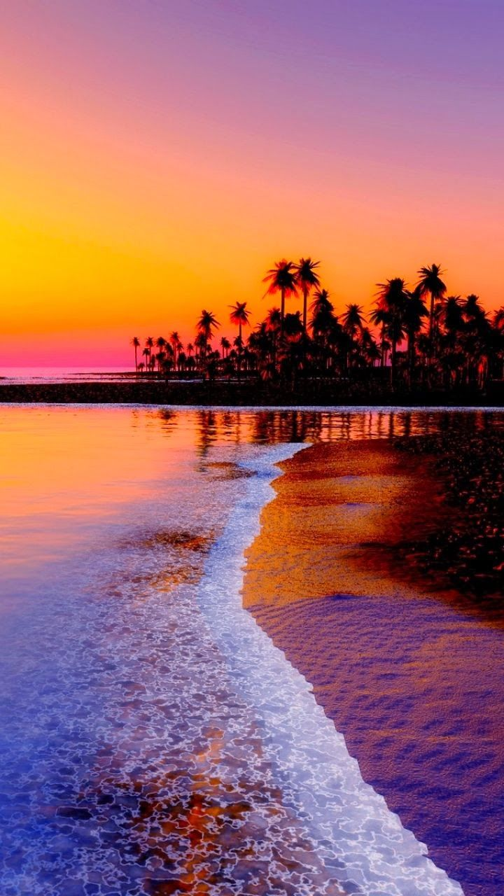 Beach, Sunset