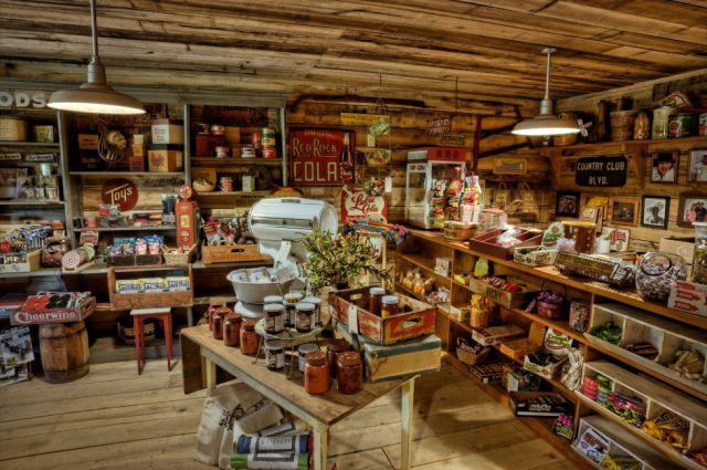 Image detail for -in time at the Old Fashioned General Store filled with lots of old ...