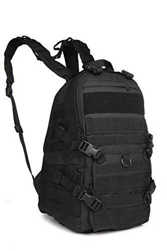 Sport Outdoor Military Rucksacks Tactical Molle Patrol Rifle Backpack Camping Hiking Trekking Bag 08484 Black *** Be sure to check out this awesome product.