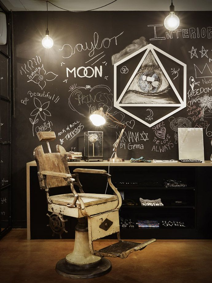 The new rockabilly-inspired Dakota Lee is more than just a tattoo parlour. Designed by Tristan du Plessis for studioA, it also features a retail space, art gallery and bar area.