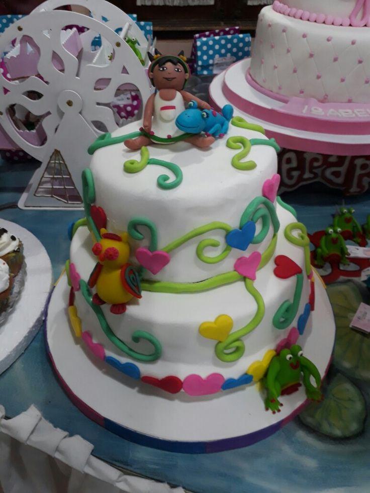 Torta princesa medialuna