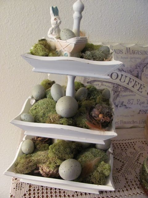 My Shabby Chateau: Vintage Inspired Easter Vignette