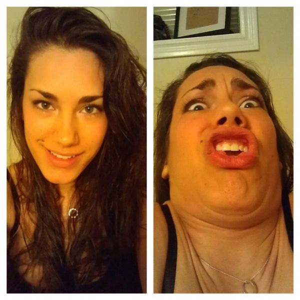 Hot Girls Making Ugly Faces