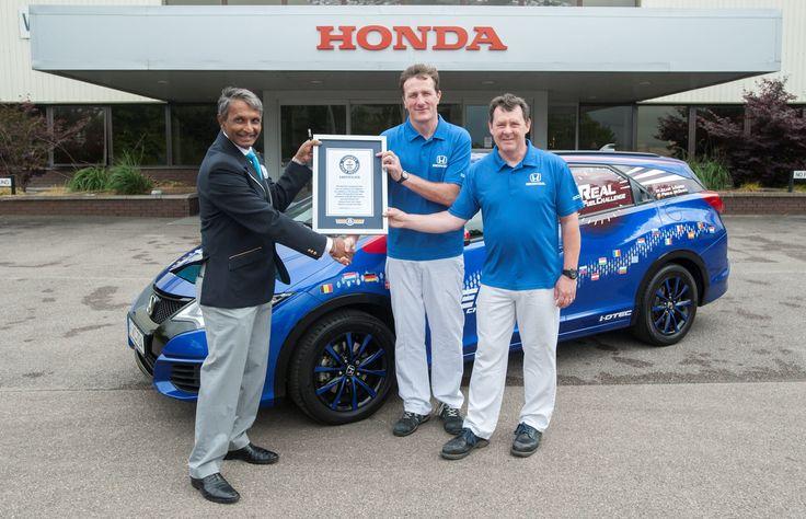 Humberto Obed Montiel comenta el record guiness de Honda.