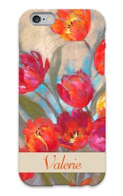 Floral Garden Designer Custom Cell Phone Case