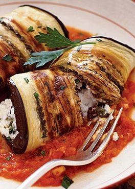 Eggplant Cannelloni looks and sounds delicious. I'm always looking for ways to get my pasta fix without the actual pasta ;)