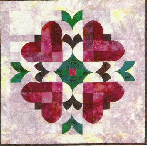Heart To Heart Quilt Pattern By Southwind Designs Beautiful Quilts Interesting Heart Quilt Pattern