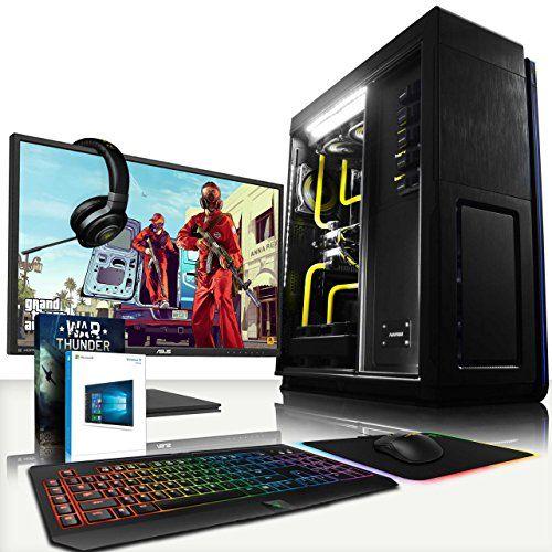 "VIBOX Hyperion HyperFreeze Package 18 - Ultimate Gaming PC, Windows 10 Desktop Computer with ASUS 28"" 4K UHD HDMI Monitor, Razer Chroma Bundle: BlackWidow Keyboard, DeathAdder Mouse + Mat, Kraken 7.1 Headset (Intel i7 Extreme 5960X @ 4.5GHz 8-Core Processor, Custom Dual Watercooling Loop, 2 x 12GB Nvidia Geforce GTX Titan X (SLI) Graphics Cards, X99S SLI Plus, 1TB Samsung EVO 850 SSD Solid State Drive, 3TB Hard Drive, 64GB Patriot Viper Xtreme 2800MHz DDR4 RAM, RM1000 PSU, Ph"