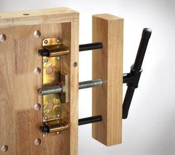 Workbench clamp, 50 x 360 x 85 mm