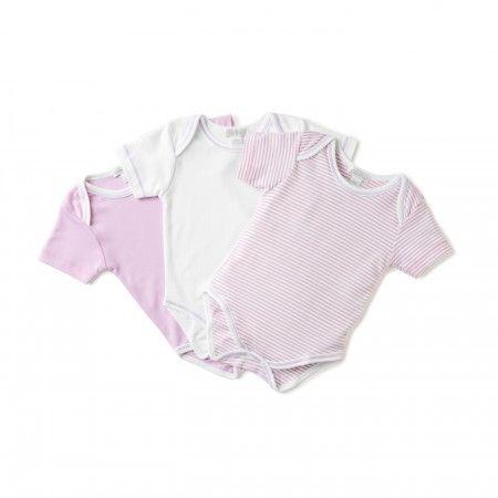 Kissy Kissy 3 Piece Pink Onesie Gift Set