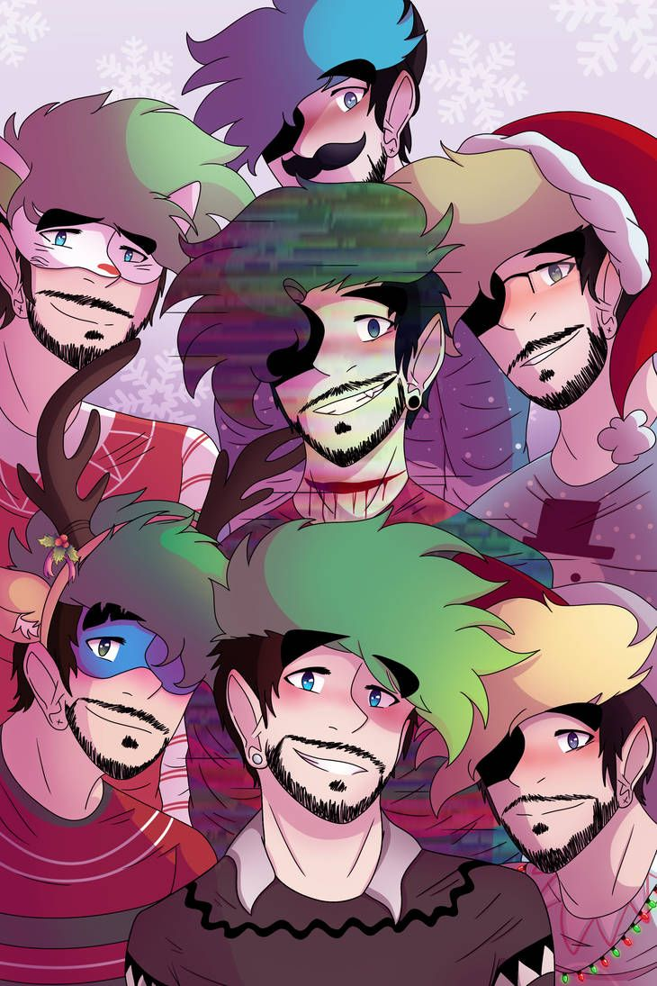 Christmas Photo by Sochi65432 | Jacksepticeye :D