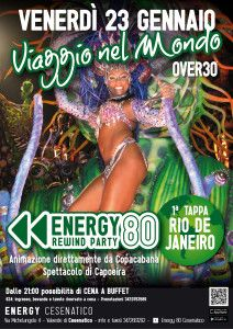 Atmosfere brasiliane all'Energy 80 http://www.nottiromagnole.it/?p=13983