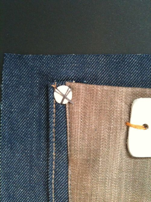 Ideas for rivet and pocket #denim
